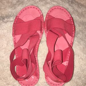 Shoes - Cute pink/red sandals